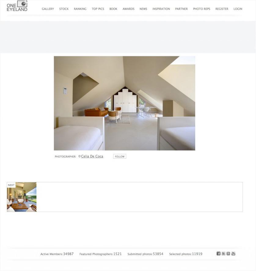 El portal de fotografía Oneeyeland muestra el trabajo de Celia de Coca