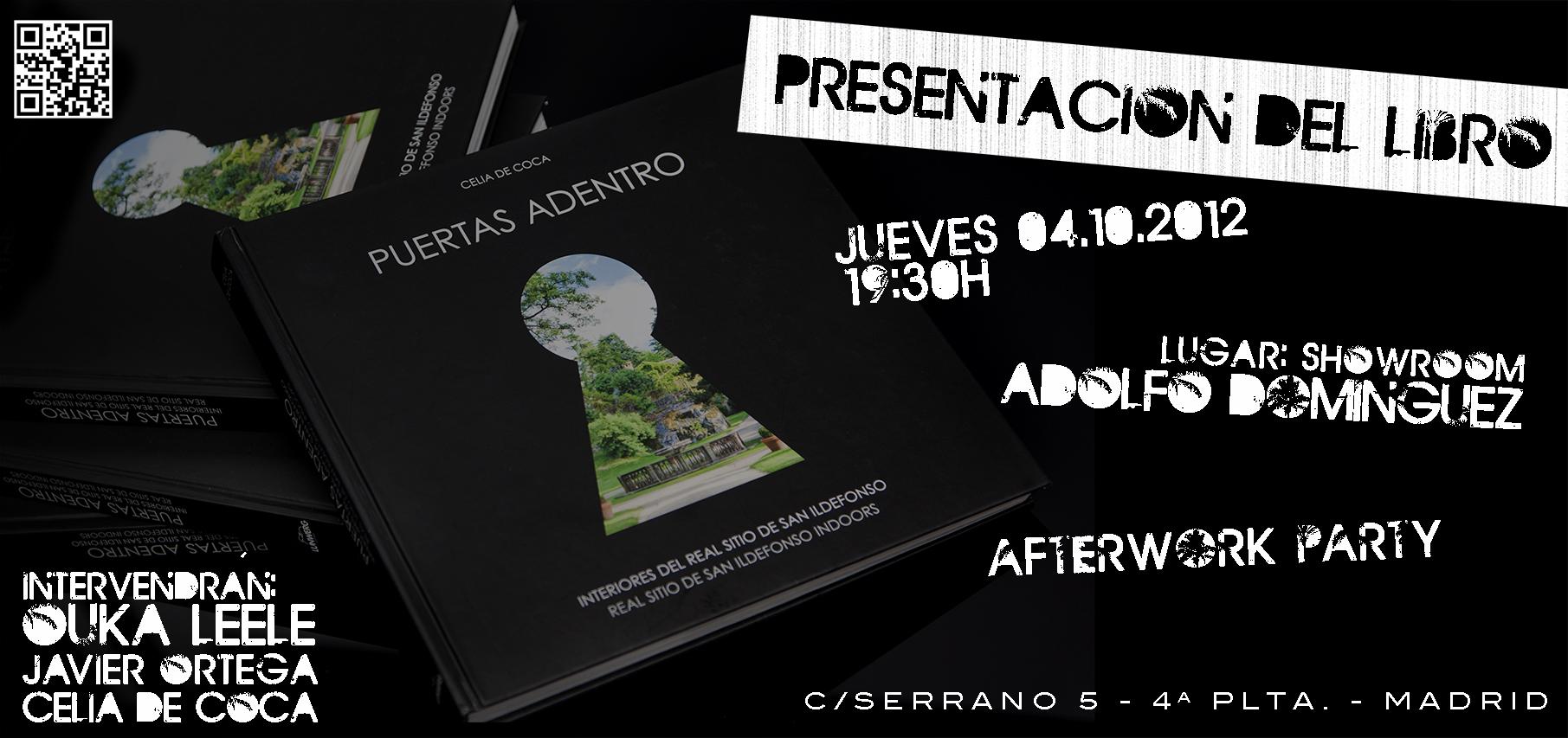 Presentación del libro 'Puertas adentro' de Celia de Coca en Madrid