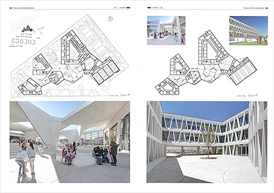 La prestigiosa revista alemana de arquitectura Wettbewerbe Aktuell publica un amplio reportaje del Colegio Alemán con fotografías de Celia de Coca