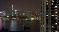 skyline hong kong night – fotografía – celia de coca