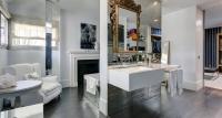 baño parisién – chimenea – fotografía interiores – fotografía decoración – celia de coca