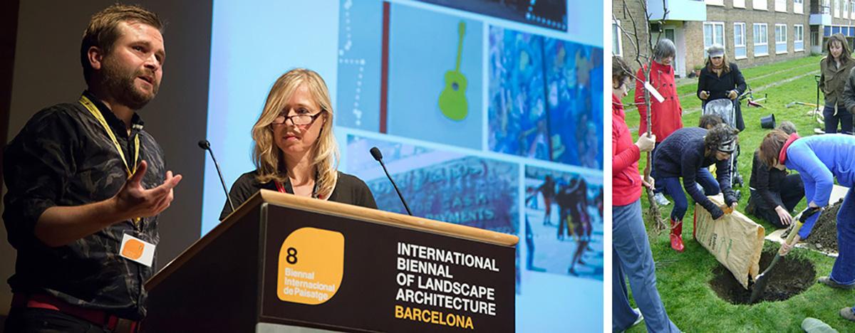 Johanna Gibbons - Liza Fior - Neil Davidson - VIII Bienal Internacional de Arquitectura de Paisaje en Barcelona por Celia de Coca
