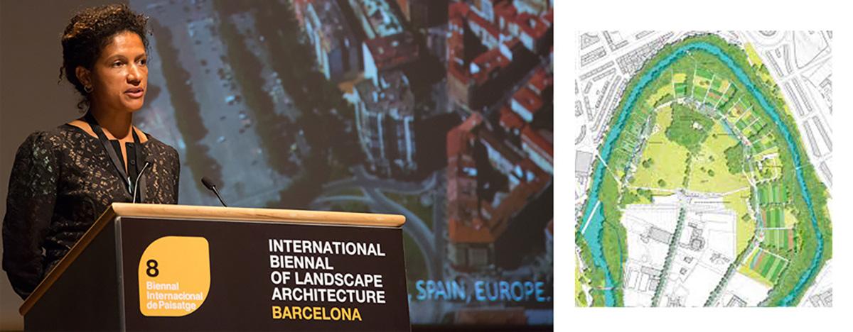 Margarita Jover - VIII Bienal Internacional de Arquitectura de Paisaje en Barcelona por Celia de Coca