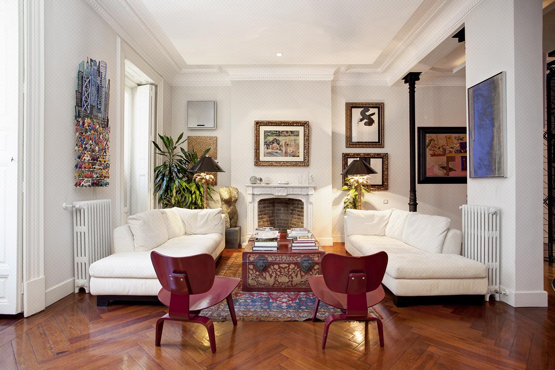 salon estar chic classic parisien - fotografia interiorismo - fotografia decoracion - celia de coca