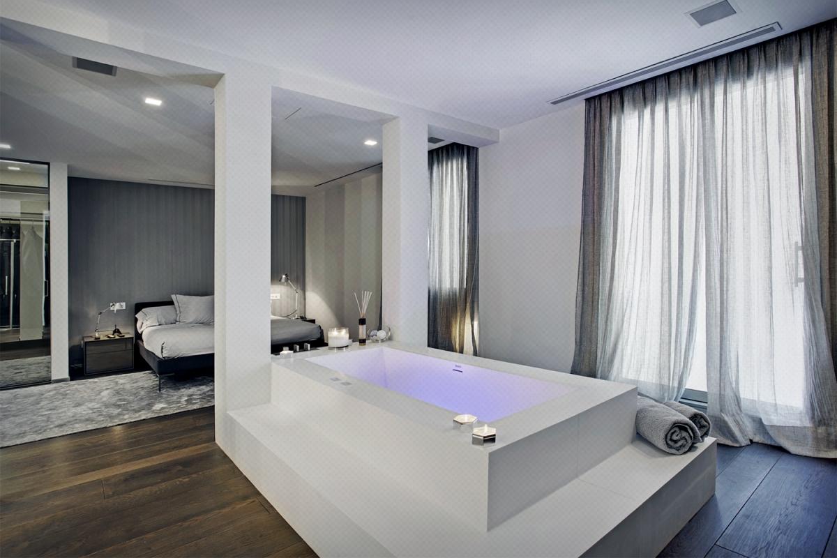 baño - diseño - bañera exenta - fotografía interiores - fotografía decoración - celia de coca