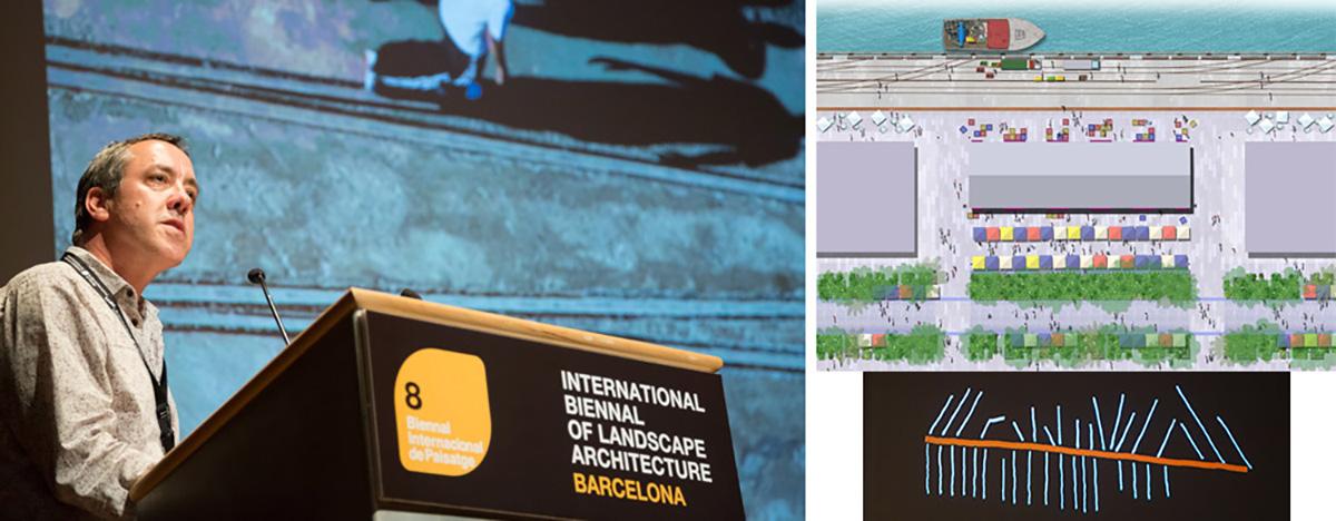 Perry Lethlean - VIII Bienal Internacional de Arquitectura de Paisaje en Barcelona por Celia de Coca