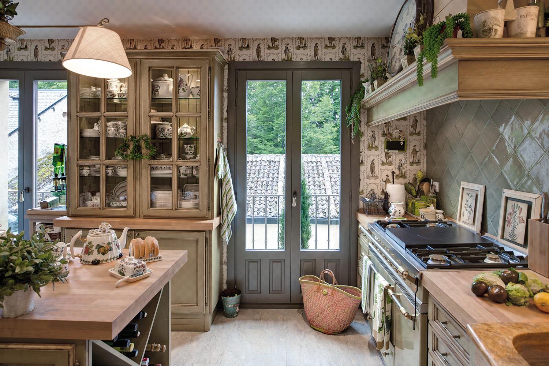 cocina rústica encanto- fotografia decoración - fotografia interiores - celia de coca