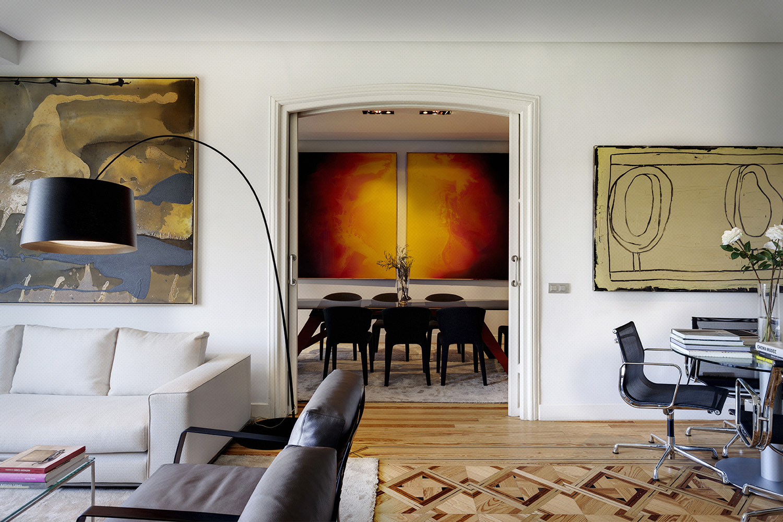 comedor clásico parisién - fotografía interiores - fotografía decoración - celia de coca