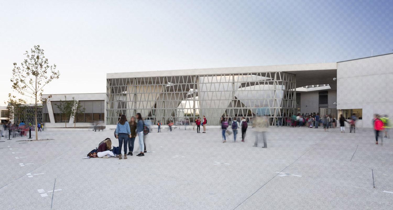colegio alemán madrid - grüntuch ernst architects - fotografía arquitectura - celia de coca