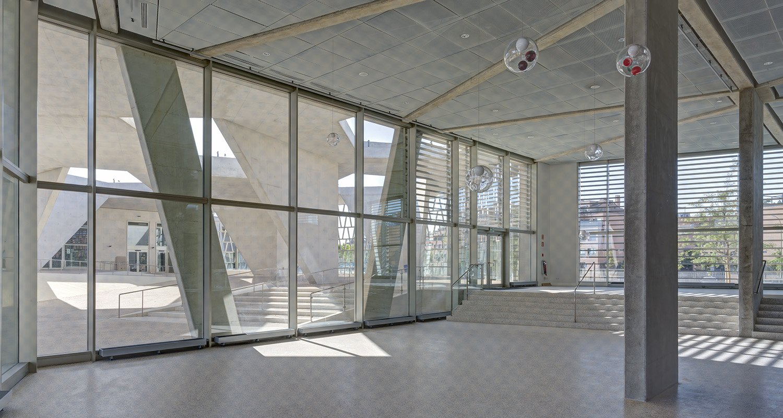 colegio alemán madrid - grüchtuch ernst architects - fotografía arquitectura - celia de coca