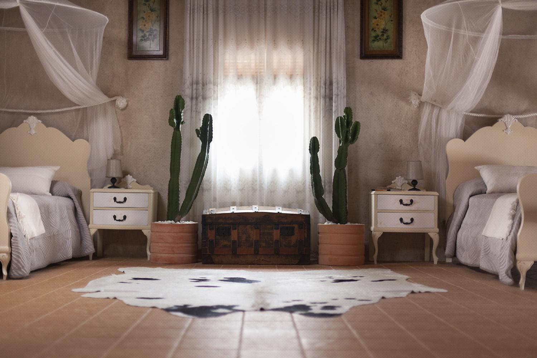 dormitorio infantil doble cactus - fotografia interiorismo - fotografia decoracion - celia de coca