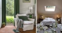 dormitorio rústico verde – barro cocido – fotografia interiorismo – fotografia decoracion – celia de coca
