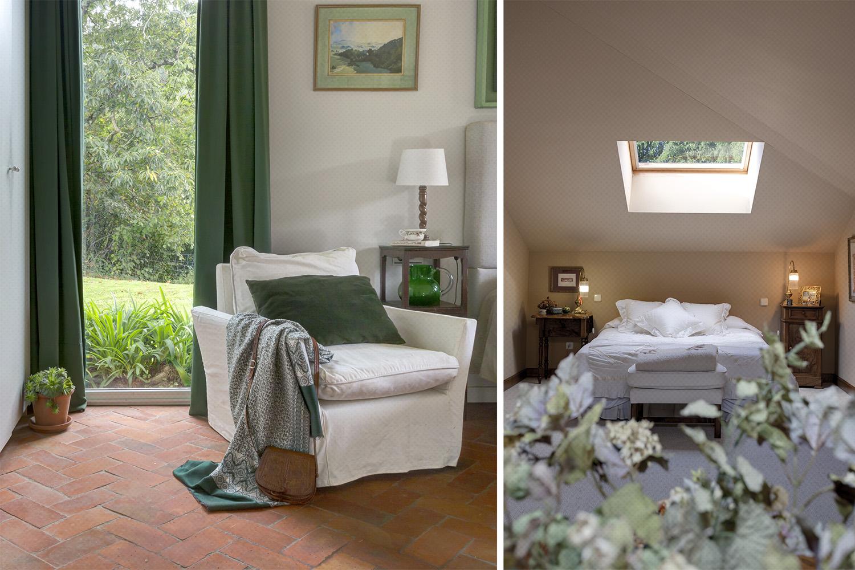 dormitorio rústico verde - barro cocido - fotografia interiorismo - fotografia decoracion - celia de coca_007