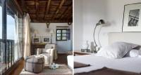 dormitorio rústico vintage blanco – suelo roble – fotografia interiorismo – fotografia decoracion – celia de coca