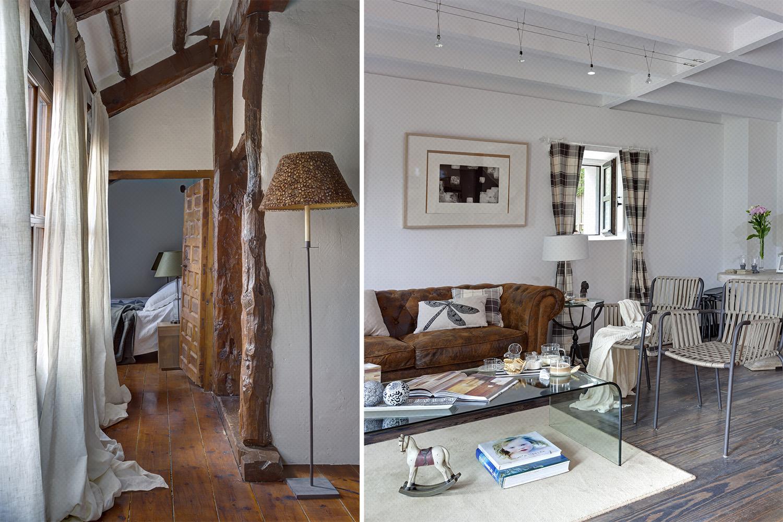 dormitorio salon rustico moderno - fotografia interiorismo - fotografia decoracion - celia de coca