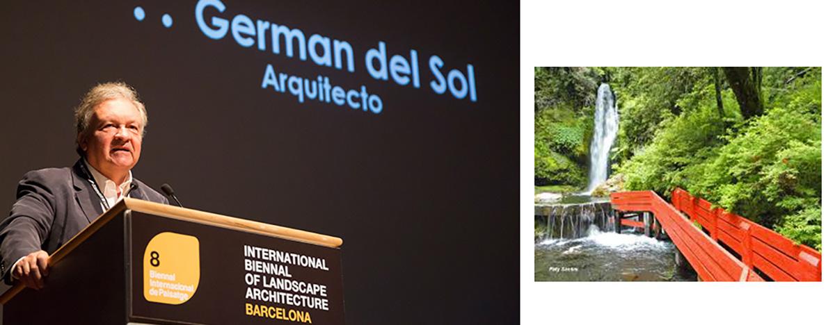 Germán del Sol - VIII Bienal Internacional de Arquitectura de Paisaje en Barcelona por Celia de Coca