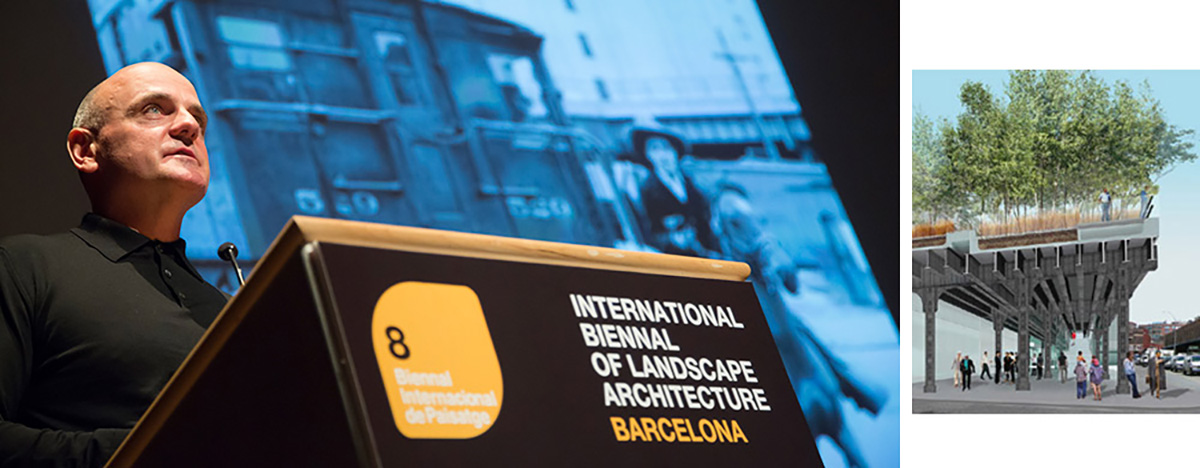 James Corner - VIII Bienal Internacional de Arquitectura de Paisaje en Barcelona por Celia de Coca