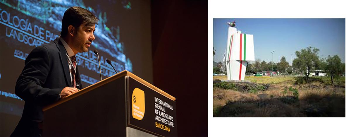 Pedro Camarena Berruecos - VIII Bienal Internacional de Arquitectura de Paisaje en Barcelona por Celia de Coca