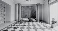 recibidor hall neoclásico – damero mármol- fotografia interiorismo – fotografia decoracion – celia de coca