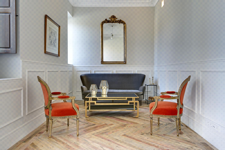 recibidor hall neoclásico chic parisien - fotografia interiorismo - fotografia decoracion - celia de coca