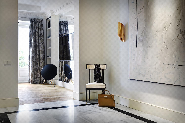 recibidor hall classic parisien - fotografia interiorismo - fotografia decoracion - celia de coca