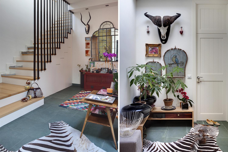 recibidor hall chic vintage - fotografia interiorismo - fotografia decoracion - celia de coca