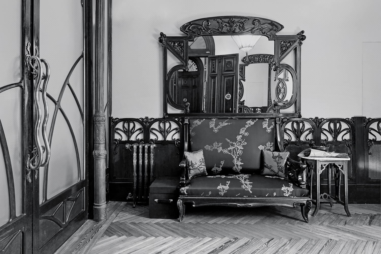 recibidor estar art nouveau - fotografia interiorismo - fotografia decoracion - celia de coca