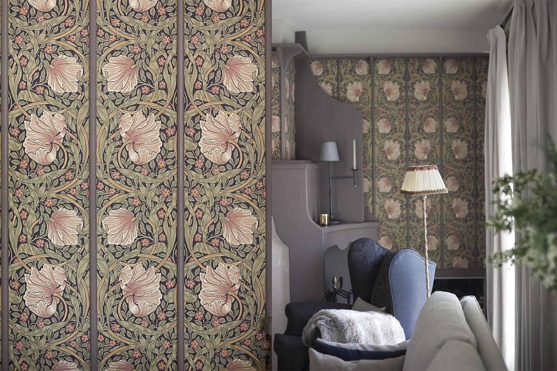salon estar papel pintado - fotografia interiorismo - fotografia decoracion - celia de coca