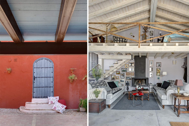 loft rústico moderno vintage - fotografia interiorismo - fotografia decoracion - celia de coca