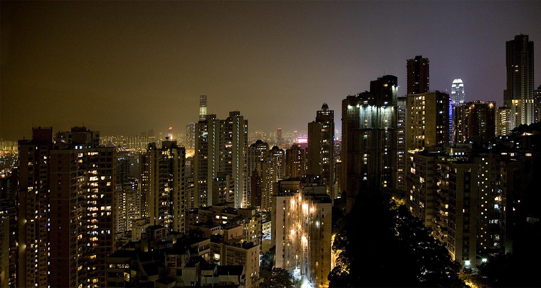 skyline honk-kong - fotografía arquitectura - celia de coca