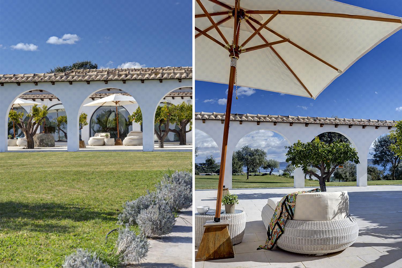 exterior jardín cortijo extremeño - valcecañas - fotografia interiorismo - fotografia decoracion - celia de coca