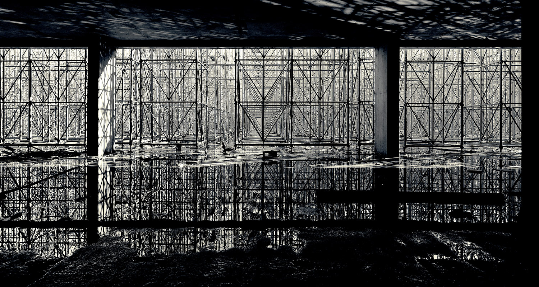 andamios - fotografía obras arquitectura - celia de coca