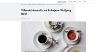 embajador Dold Embajada de alemania en Madrid Celia de Coca